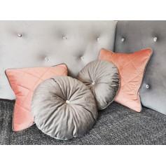 Velvet Kissen 40cm x 40cm Glamour 4er Set elegant NEU