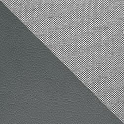 MUSTER 8 - Bahama 31 + Kunstleder Soft 29 Grau